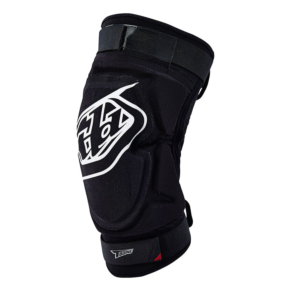 T-BONE KNEE GUARD SOLID BLACK / BLACK