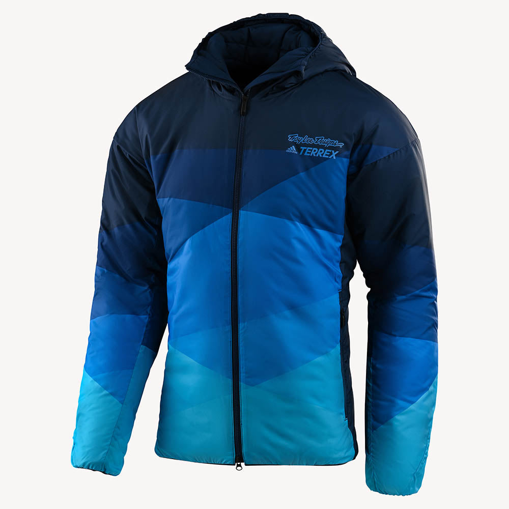 INSULATED JACKET SOLID COL NAVY