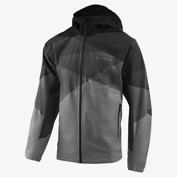 RAIN JACKET SOLID GRAY