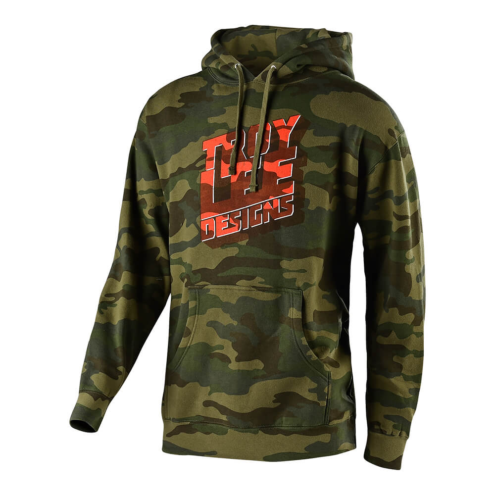 PULLOVER BLOCK PARTY FOREST CAMO