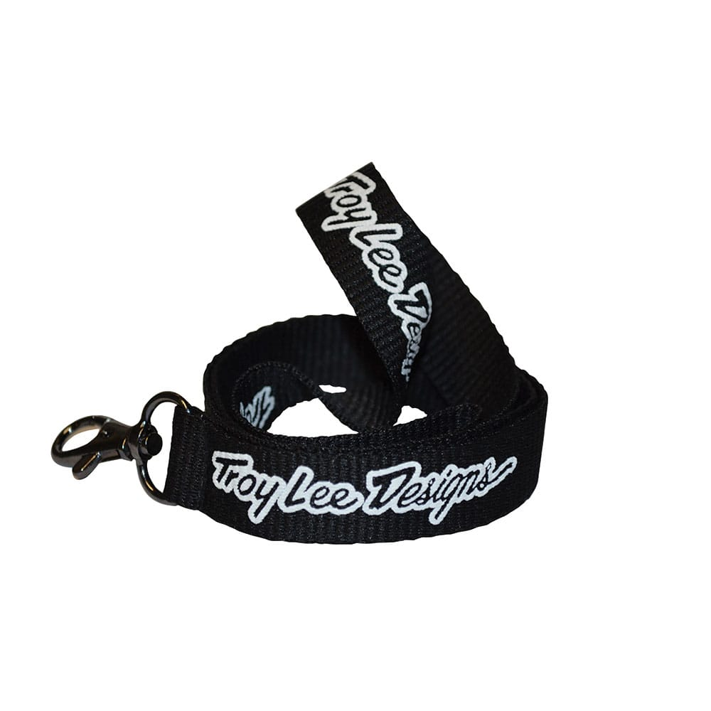 LANYARD TLD BLACK / WHITE