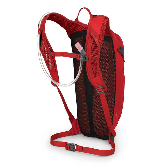 SISKIN 8 HYDRATION BACKPACK SOLID RED