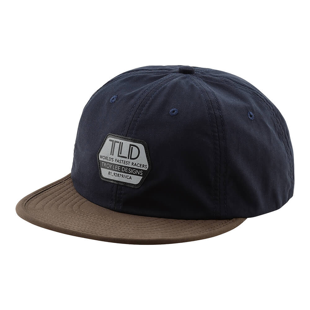 SNAPBACK HAT REFLECTIVE FACTORY NAVY