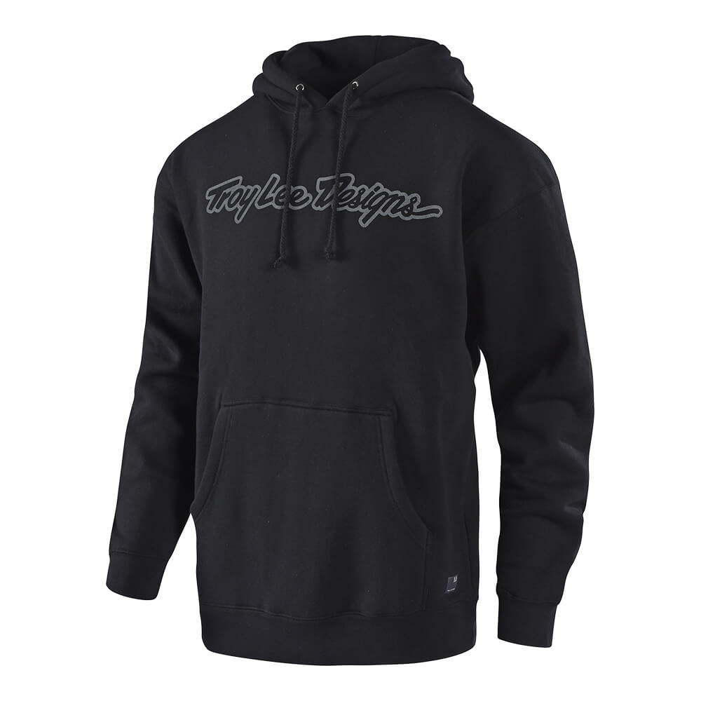 PULLOVER SIGNATURE BLACK / GRAY