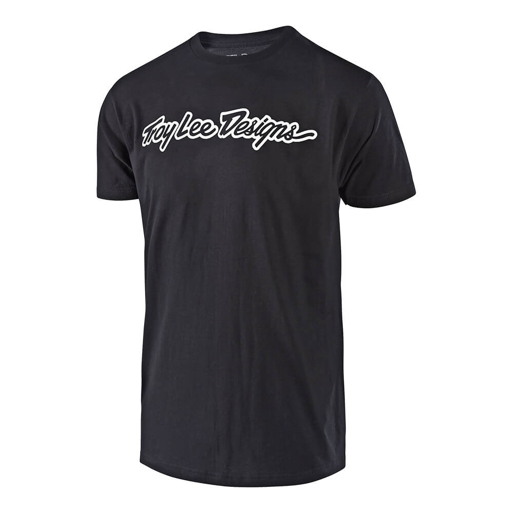 SHORT SLEEVE TEE SIGNATURE BLACK