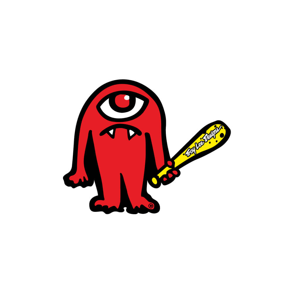 STICKER CYCLOPS RED
