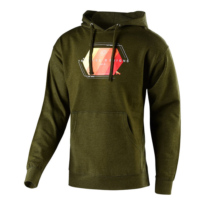 PULLOVER TECHNICAL FADE ARMY HEATHER