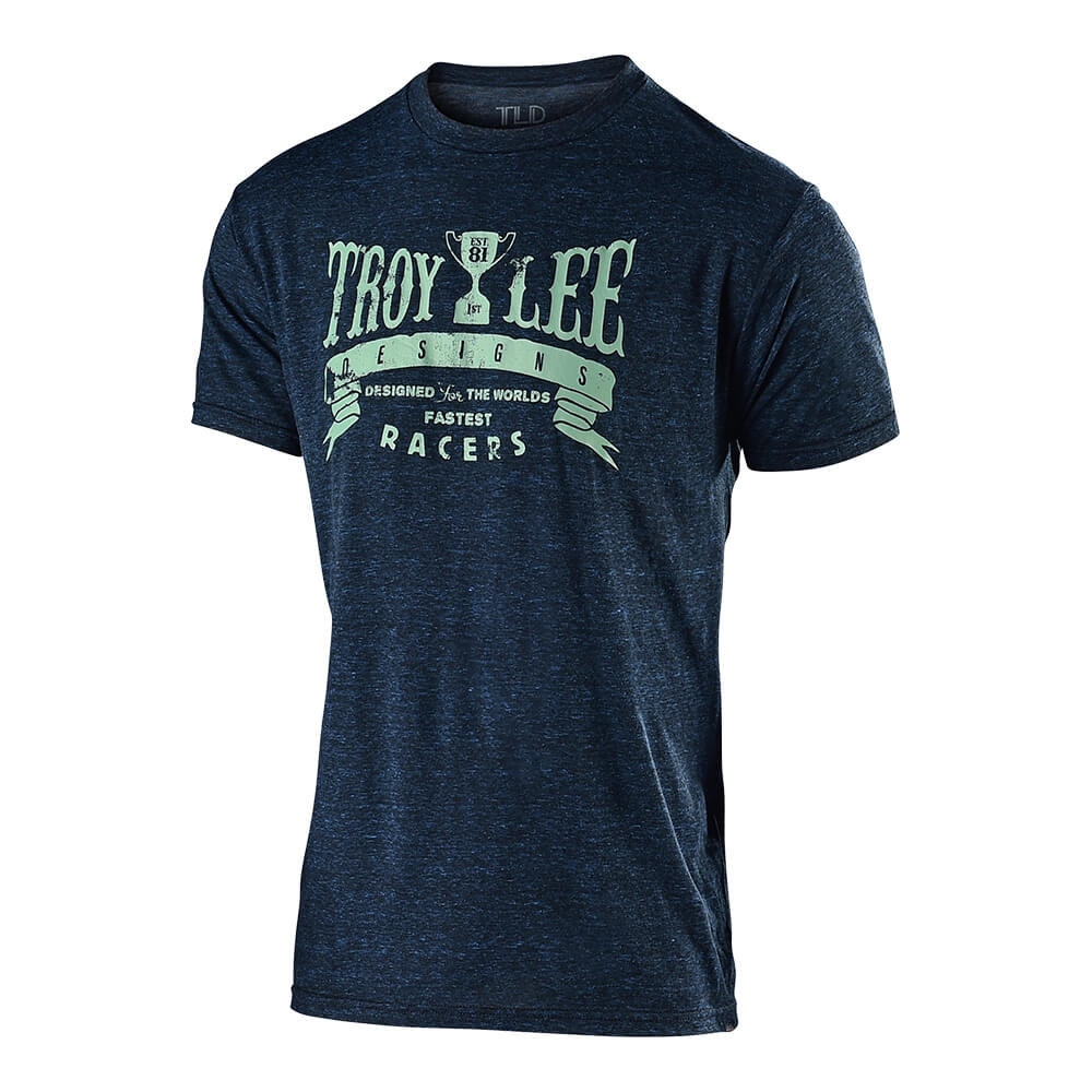 SHORT SLEEVE TEE TROPHY RACERS MIDNIGHT BLUE