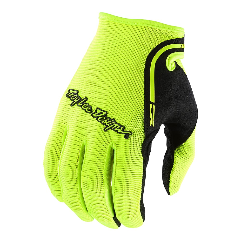 Troy Lee Designs 2020 Men/'s Ace 2.0 MTB Gloves Flo Yellow All Sizes