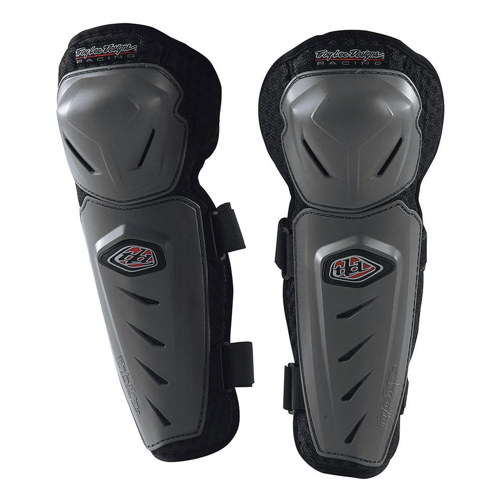 YOUTH KNEE GUARD SOLID GRAY