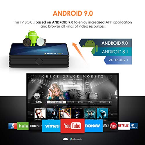 NinkBox Android TV Box de Version Android 9.0