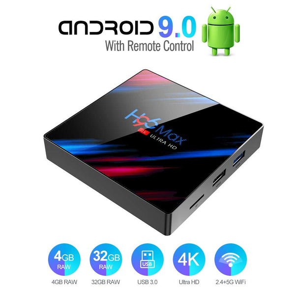 Smart Media Box 4GB RAM 32GB