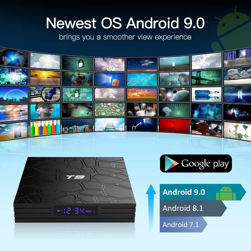 Android TV Box, T9