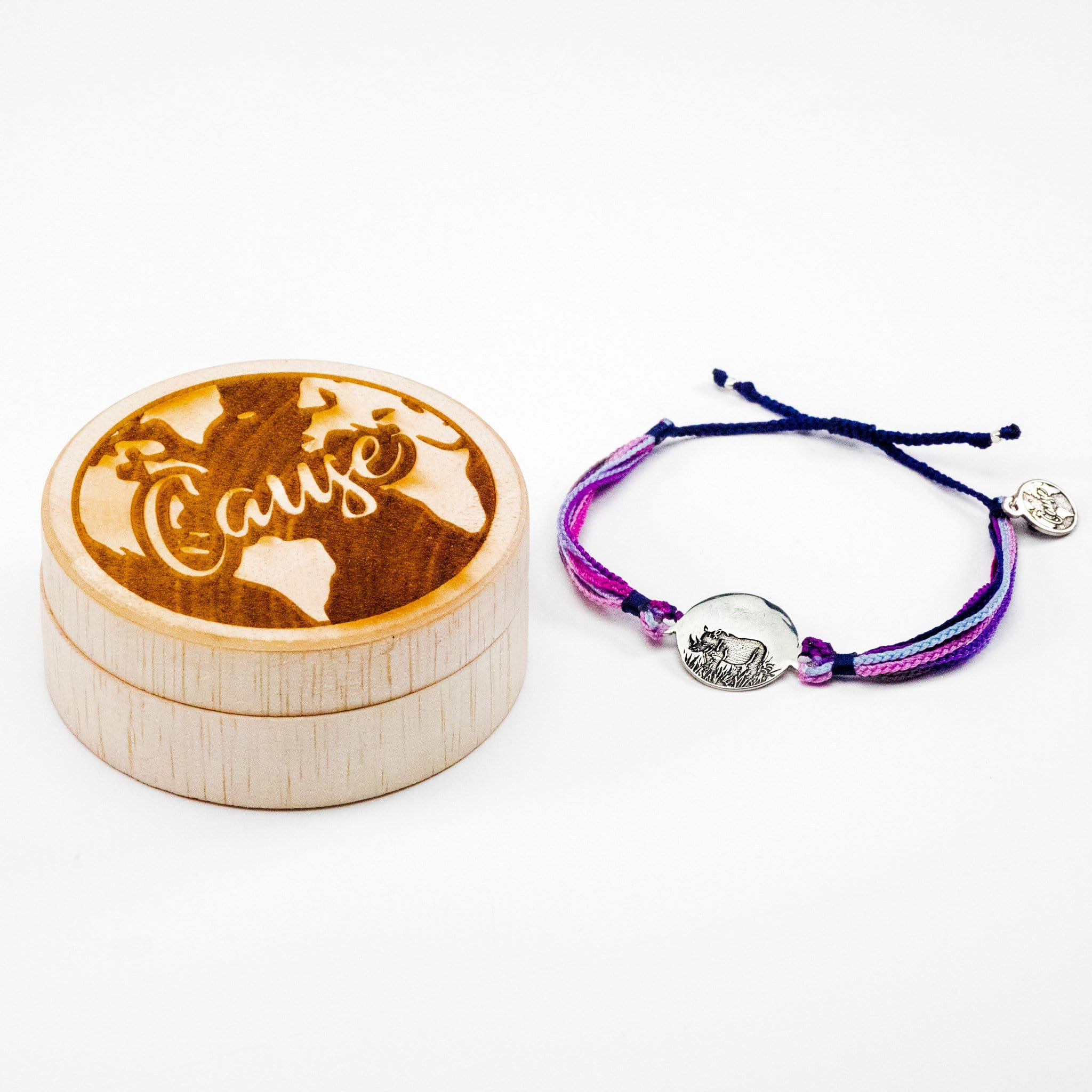Save Rhinos - Cause Bracelet