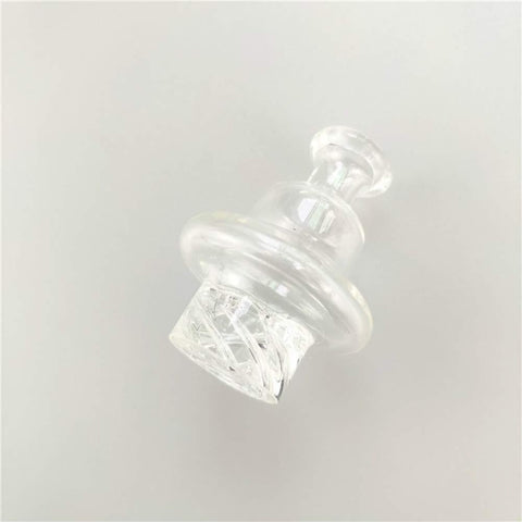 OD 34mm Clear Spiral Quartz Carb Cap For Sale | Free Shipping