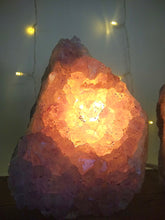 Load image into Gallery viewer, Purple Amethyst Crystal Lamp