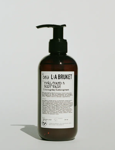 Body wash L.A BRUKET lemongrass 450ml