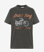 Charger l'image dans la galerie, Lili tee motorcycle ANINE BING Charcoal