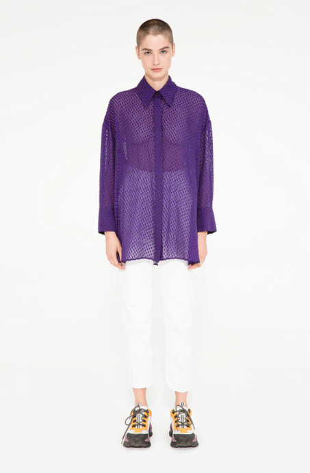 Chemise Perry MARGAUX LONNBERG mauve