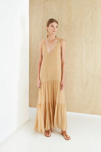 Robe Colony maxi MAGALI PASCAL beige