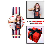 Customized Unisex Wrist Watch With Photo For Kids