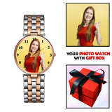 Classy Personalized Watch With Photo For Fashionable Girls