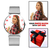 Personalised Wrist Watch For A Lady