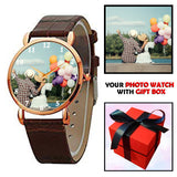 Customised Gifts Photo Watch For Her