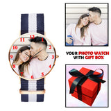 Nato Strap Photo Watch For Her
