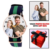 Nato Strap Multi Colored Personalized Watch For Him