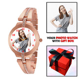 Stylish Personalized Gift Watch For Beautiful Lady