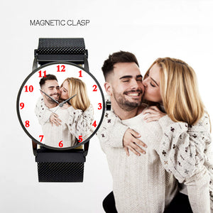 Magnetic Photo Watch, Best Gifts For Him On Birthday / Anniversary