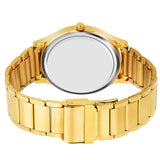 Golden Custom Watch For Men
