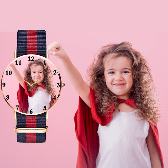 Kids (Unisex) Photo Watch