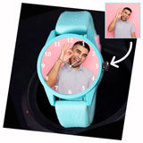 Silicon Strap Cool Personalized Watch For Boys, Unique Gifts For Boy's On Birthday
