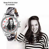 Printed Designer Custom Watch For Girls