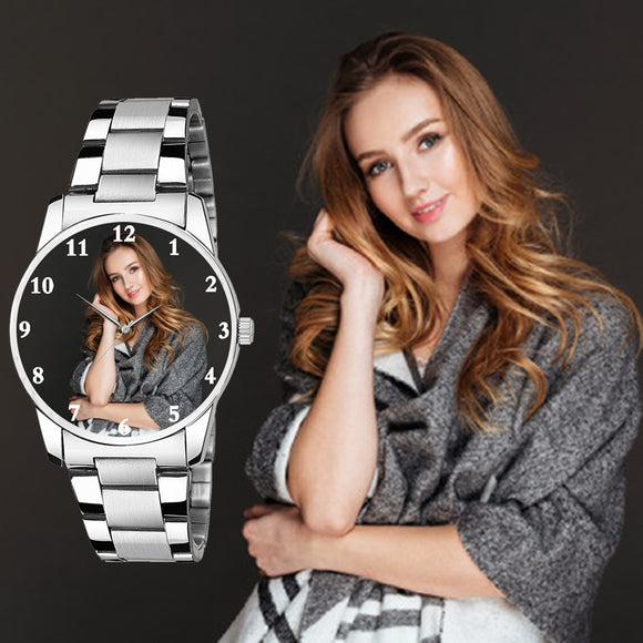 Elegant Photo Watch Unique Gifts For Her