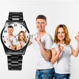 Classic Personalized Watch, Best Gift For Marriage For Friend Male