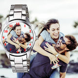 Personalized Silver Watch Best Gifts For Husbands On Anniversary / Birthday