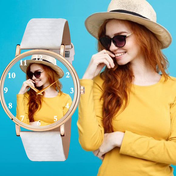 Unique Color Changing Custom Photo Watch For Girls