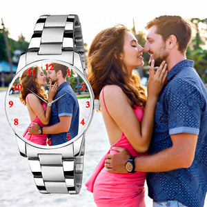 Customized Photo Watch, Best Gift For Husband On Wedding Anniversary