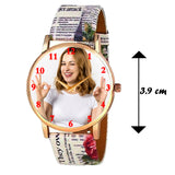 Customized Watch With Printed Straps For Girls