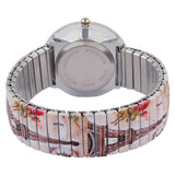 Personalized Watch For Fashionable Lady With Stretchable Band