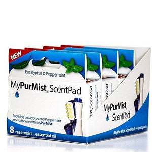 MyPurMist Handheld/Plug-In ScentPad Accessory 4-Pack Box