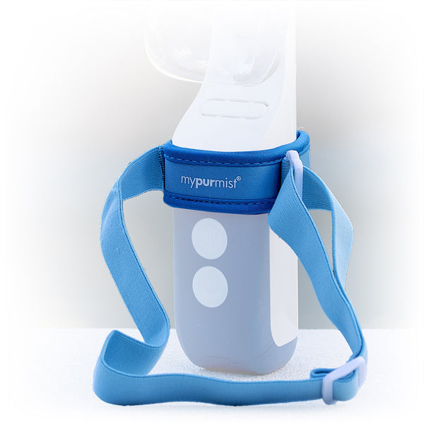 mypurmist free cordless steam inhaler handsfree accessory - device not included