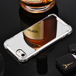 Luxury Plating Mirror Phone Case