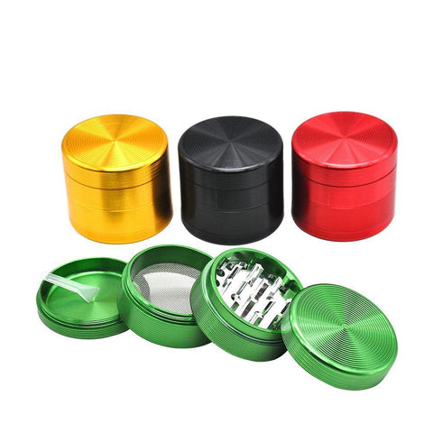 4 Layer Aluminium Herb Grinder | Weed Grinder For Sale | 420 Gifts