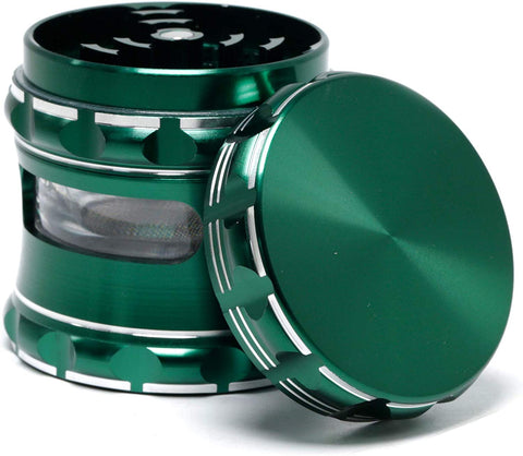 Aluminum Alloy CNC Herb/Weed Grinder Green For Sale | Free Shipping