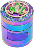 Animal Diamond Rainbow Zinc Alloy Weed/Herb Grinder | Free Shipping