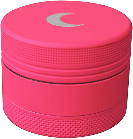 Finish Pink Silver Herb Grinder | Best Weed Grinders | Free Shipping